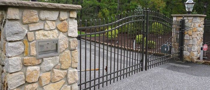 all vinyl fence, iron fencing, gated fencing, security fence